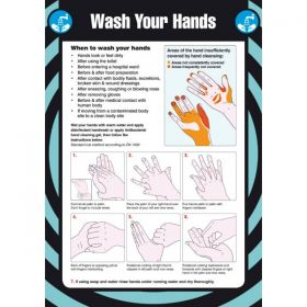 Wash Your Hands Sign / Poster - 55917