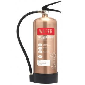 Commander Contempo 6Ltr Water Fire Extinguisher - Antique Copper - WSEX6AC