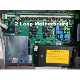 Ziton ZP3-MB2C-230V-2L ZP3 2 Loop Motherboard On Chassis - 80802