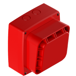 Zeta 10-030 Wi-Fyre Wireless Sounder c/w Batteries - Red