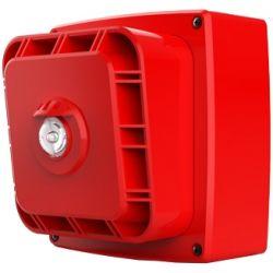 Zeta 10-032 Wi-Fyre Wireless Sounder & Visual Indicator c/w Batteries - Red