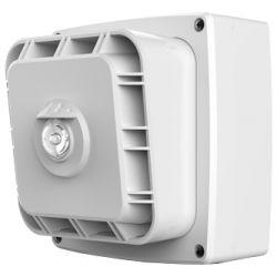 Zeta 10-033 Wi-Fyre Wireless Sounder & Visual Indicator c/w Batteries - White