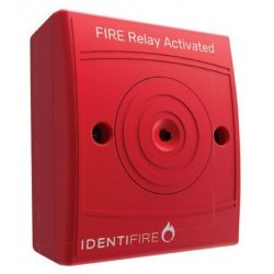 Vimpex 10-2210RSR-S Identifire Auxilliary Relay - Surface Mounted - Red