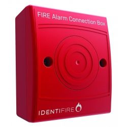 Vimpex 10-2410RSX-S Identifire Fire Alarm Connection Box - Red