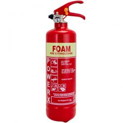 Thomas Glover PowerX 1 Litre AFFF Foam Fire Extinguisher - 81/03643