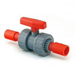 Vesda Xtralis RED22P025I Aspiration System Pipework 2 Way Ball Valve - 25mm