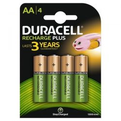 Duracell Duralock Rechargeable AA Batteries - Pack of 4 - HR6 / DC1500