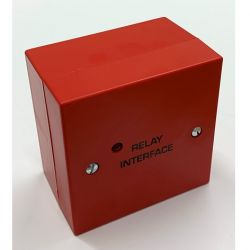 T2 Solutions 500-021R-B 24V Easy Relay - Red - With Backbox