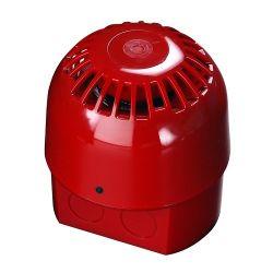 Apollo 55000-018 Alarmsense Sounder - Red Two Wire Open Area Sounder
