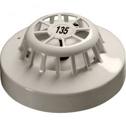 Apollo 55000-138 Series 65A Heat Detector With Flashing LED & Magnetic Test Switch - 135˚F