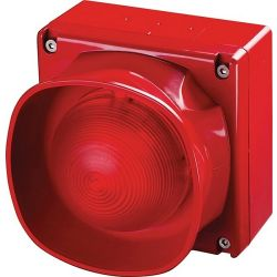 Apollo 55000-298 XP95 Red Sounder Beacon with Isolator weatherproof (IP66) 92-100dB(A)