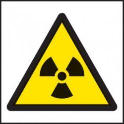 Radiation Warning Label - Roll of 100 - 59719