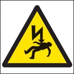 Electrical Shock Danger Of Death Warning Label - Roll of 100 - 59720