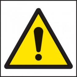 Caution Danger Warning Label - Roll of 100 - 59721