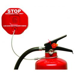 STI-6200 Fire Extinguisher Stopper / Alarm