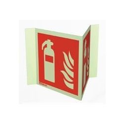 Jalite 6422P15 Wall Mounted Panoramic Fire Extinguisher Sign