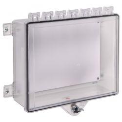 STI-7521 Control Panel Enclosure With Thumb Lock