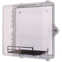 STI-7531MED AED Defibrillator Enclosure With Thumb Lock