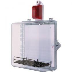 STI-7535MED AED Defibrillator Enclosure With Alarm Flashing Strobe And Thumb Lock