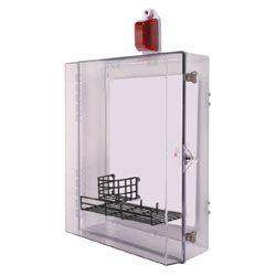 STI-7555MED AED Defibrillator Enclosure With Alarm Flashing Strobe And Thumb Lock