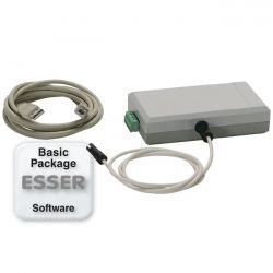 Esser 789860.10 Starter kit equipment PLus with programming software tools 8000