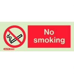 Jalite 8067K No Smoking Sign 150mm x 400mm