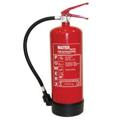Water With Additive Fire Extinguisher - 6 Litre Thomas Glover PowerX - 81/03403