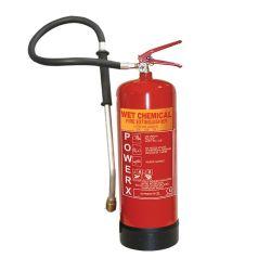 PowerX Wet Chemical Fire Extinguisher - 6 Litre - 81/03408