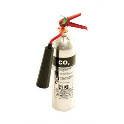 Thomas Glover Firepower 9705/06 2Kg CO2 Polished Aluminium Fire Extinguisher