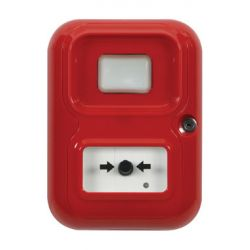 STI AP-3-R-A Alert Point With Beacon - Stand Alone Alarm System - Red
