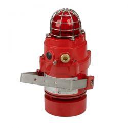 E2S BEXCS11005DPRDC024 Flameproof Omni-Directional Horn & Strobe - 24V DC - Red