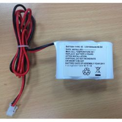Channel Safety B/BATT/BROOK Replacement Battery For Brook Fitting - 3.6v 1500mAh