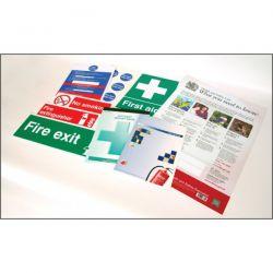 Business Starter Sign & Log Book Kit - 51071