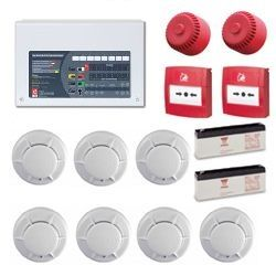 C-Tec 4 Zone Fire Alarm System Contractor Kit - 4Z-CONT-FAK
