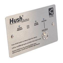 C-Tec XFP508X/SS Stainless Steel Hush Button - Apollo Protocol