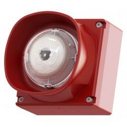 Cooper CASB393WP Addressable Weatherproof Wall Mounted Sounder VAD - Red (FXN559LPSWP / MASB880WP)