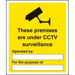 These Premises Are Under CCTV Surveillance Sign - 1700