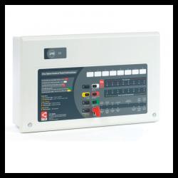 C-Tec CFP708-2 CFP 8 Zone Alarmsense Fire Alarm Panel