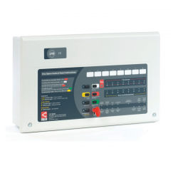 C-Tec Fire Alarm Panel - CFP 4 Zone Conventional Keyswitch Entry CFP704-4K