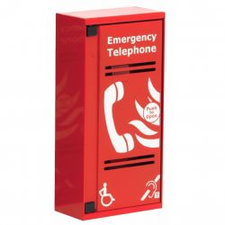Eaton CFVCSHP VoCall Type A Fire Telephone Outstation - Surface Mounted - Red
