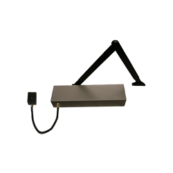 MDH-623 Custom Electronics 24V dc Overhead Door Closer (Hold Open and Swing Free Version)