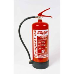 Water Additive Fire Extinguisher 6 Litre Compact 34 - Commander WS EX6A