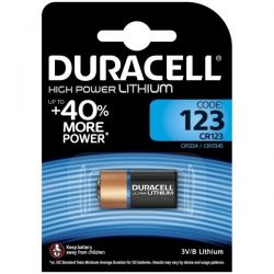 Duracell CR123 3V High Power Lithium Battery