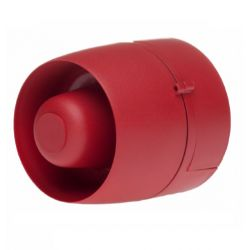 Cranford VTG-32EM-RB-DB Wall Mounted Marine Approved Sounder - Red