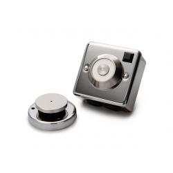 Cranford Controls DRG-CH-230V Chrome Door Detent - Flush Mounted 230V (302-086)