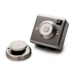 Cranford Controls DRG-SS-230V Stainless Silver Door Detent - Flush Mounted 230V (302-102)