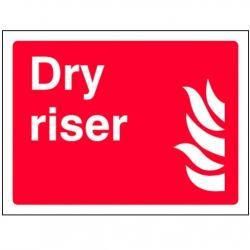 Dry Riser Sign - 200 x 150mm - 1103