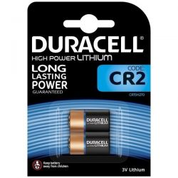 Duracell CR2 3V High Power Lithium Battery - Pack of 2