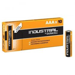 Duracell Industrial AAA Alkaline Battery - Pack of 10 - ID2400 LR03 1.5V