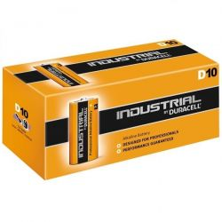Duracell Industrial D Alkaline Battery - Pack of 10 - ID1300 LR20 1.5V